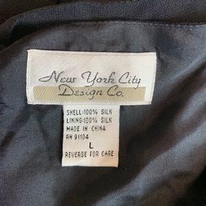 New York City Design Co Tops - NEW Silk Top